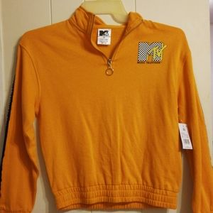 MTV I want my..xs pull over sweater